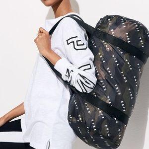NEW VS PINK Camo Packable Travel Duffle Bag